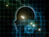 Digital Perspectives of the Mind — Stock Photo