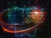 частиц технологий — Стоковое фото