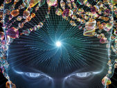 Shining Mind — Stock Photo