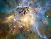 Accidental Fractal Nebulae — Stock Photo