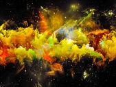 Space Nebula — Foto de Stock