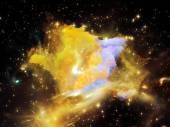 Star Nebula — Stock Photo