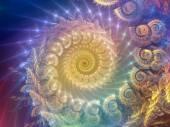 Spiral Background. — Stock Photo