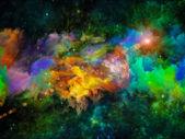 Nebula Abstraction — Stockfoto