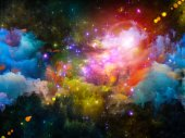Nebula Composition — Stock Photo