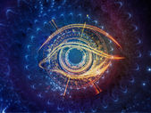 Central Eye — Stock Photo