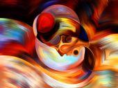 Metaphorische innere Paint — Stockfoto