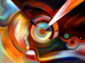 Yanılsamalar iç boya — Stok fotoğraf