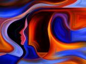 Danza di vernice interna — Foto Stock