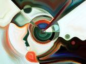 Vivid Inner Paint — Stock Photo