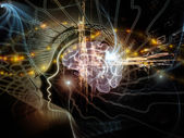 Advance of the Mind — Stock Photo