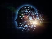 Mind Atoms — Stock Photo