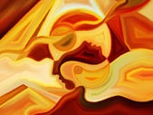 Paths of Inner Paint — Stok fotoğraf