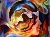 Synergies of Inner Paint — Stock Photo