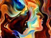 Kiss of Inner Paint — Stok fotoğraf