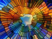 Realms of Stained Glass — Zdjęcie stockowe