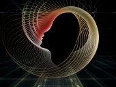 Sfery duszy geometrii — Zdjęcie stockowe