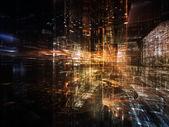 Glow of City — Stock Photo