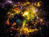 Elements of Nebula — Stock Photo