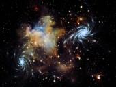 Astral Nebula — Foto de Stock