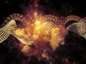 Inner Life of DNA — Stock Photo
