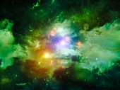 Inner Life of Nebula — Stock Photo