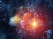 Toward Digital Nebula — Stock Photo