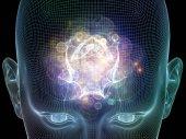 Mind Mechanism — Stock Photo
