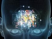 Toward Digital Thought — Foto de Stock