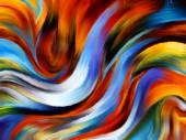 Propagation of Inner Paint — Stock Photo