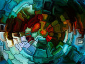 Vivid Stained Glass — Stock Photo