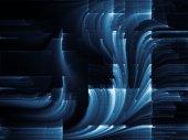Virtual Background — Stock Photo