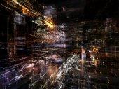 Stadttextur — Stockfoto
