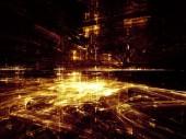 Shining City — Stock Photo