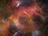 Gloed van ruimte — Stockfoto