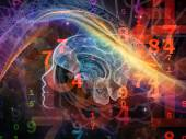 Numbers of the Mind — Stock Photo