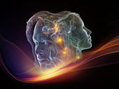 Virtual Intellect — Stock Photo
