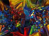 Canlı vitray — Stok fotoğraf