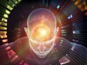 Glow of the mind — Stock Photo