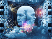 Emergence of the Mind — Stock Photo
