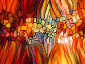Lights of Stained Glass — Stockfoto