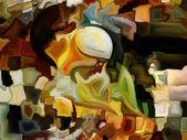 Synergies of Inner Paint — Stok fotoğraf