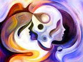 Propagation of Inner Paint — Stok fotoğraf