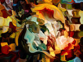 Propagation of Inner Paint — Fotografia Stock