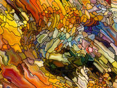 Illusions of Stained Glass — Stock Photo