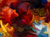 Game of Stained Glass — Stockfoto