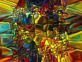 Vibrant Stained Glass — Stok fotoğraf