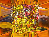 Paths of Stained Glass — Stok fotoğraf