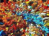 Evolving Stained Glass — Stock Photo