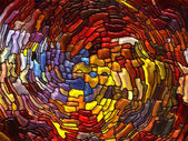 Magic of Stained Glass — Stockfoto